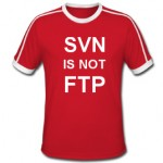 svn is not ftp