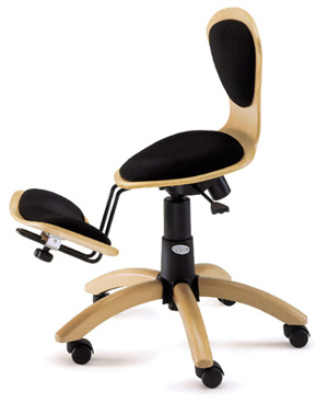 Review Ergonomic Swivel Stool Grima Twinny