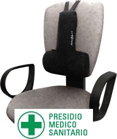 cuscino sostegno schiena per sedie ufficio