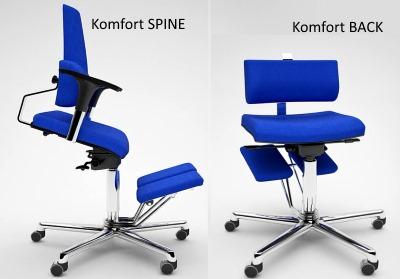sedia ergo posturale komfort