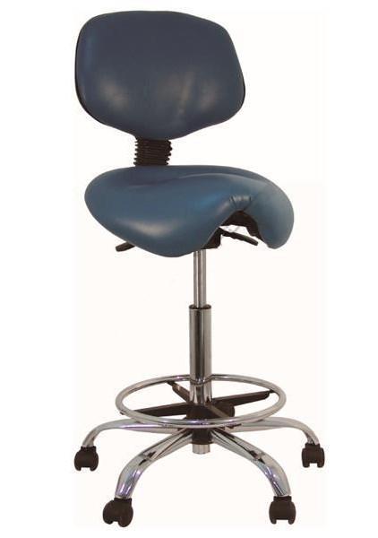 leather dentist ergonomic stool
