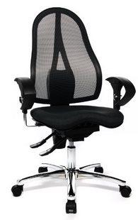 sedia schienale a rete
