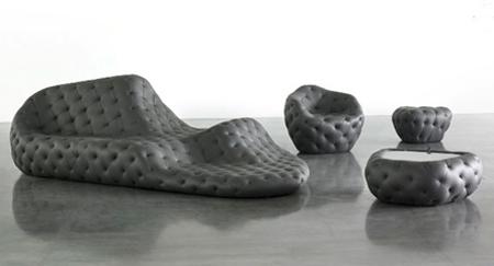 tephra formations Robert Stadler, divano ergonomico