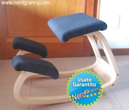 sedia ergonomica ufficio usata