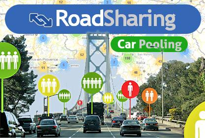 road sharing car-pooling
