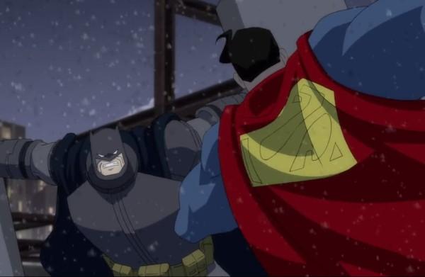 batman picchia superman