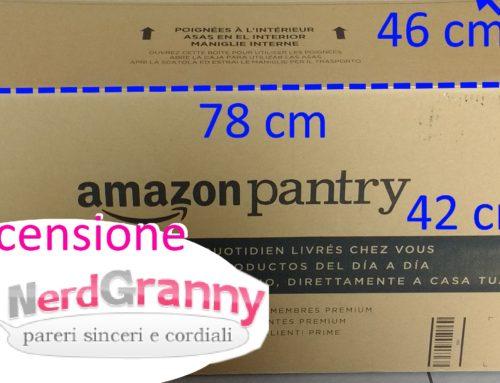 Recensione Amazon Pantry e spesa a domicilio
